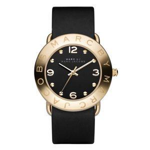 MARC JACOBS Amy Leather Strap Quartz Watch NWD